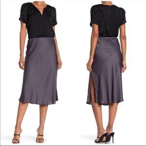 Young Fabulous & Broke Felicity Satin Slip Skirt
